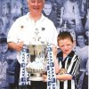 Keith Harding and grandson